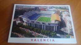 Valencia Luis Casanova Stadium Cartolina Stadio Postcard Stadion AK Carte Postale Stade Estadio - Calcio
