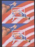 Belgie 1997 100 Jaar Moderne Olympische Spelen NA 3  2 Velletjes NL & FR ** Mnh (40939) - Belgique