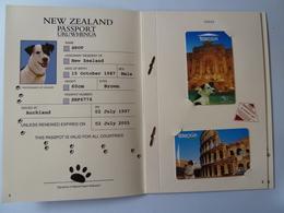 New Zealand - GPT Set Of 7 Cards - 1997 New Zealand Passpot - 1500ex - Limited Edition Collector Folder - Mint - New Zealand