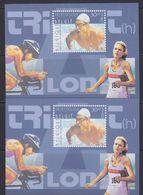 Belgie 2000 Triathlon NA7 2 Velletjes NL & FR ** Mnh (40939A) - Belgique