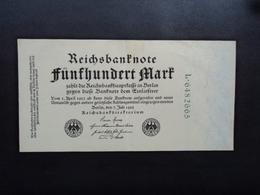 ALLEMAGNE : 500 MARK   7.7.1922    P 74b     Presque SUP - [ 3] 1918-1933 : Repubblica  Di Weimar