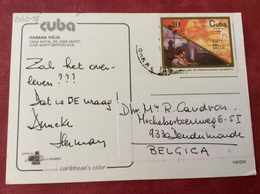Cuba. Habana Vieja. José Marti Birthplace - Cartes Postales