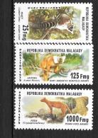 1979 - N° 627 à 629**MNH - Lémuriens - Madagascar (1960-...)
