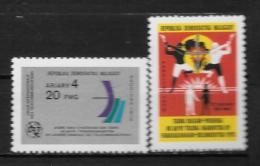 1978 - N° 621 à 622**MNH - Journée Des Télécommunications - Lutte Contre L'apartheid - Madagascar (1960-...)