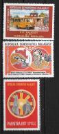 1977 - N° 616 à 618**MNH - La Poste Rurale - 90 Ans Du Télégraphe - 75 Ans De L'Académie - Madagascar (1960-...)