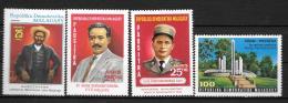 1977 - N° 611 à 614**MNH - Hommes Célèbres - Madagascar (1960-...)