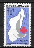 1963 - N° 384**MNH - 100 Ans Croix Rouge - Madagascar (1960-...)