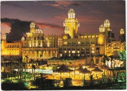 Bophuthatswana - 'The Lost City'; Illuminated Palace Hotel And Royal Pool -  (South Africa) - Zuid-Afrika