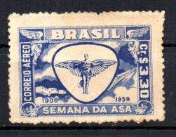 BRAZIL 1959 NO GUM - Unused Stamps
