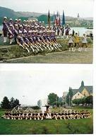 71 CHALON SUR SAONE ; Carte Officielle DOUBLE Des MAJORETTES CHALONNAISES N° 77/940 / Vierge / RARE / TTBE - Chalon Sur Saone
