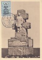 Carte  Maximum   1er   Jour    FRANCE   Résistance :  ILE  DE  SEIN  1962 - Cartes-Maximum