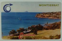 MONTSERRAT - 3CMTC - $40 - MON-3C - Bay With Redonda - 1991 - Used - Montserrat