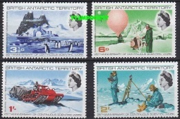 British Antarctic Territory 1969 Scientific Works 4v ** Mnh (40942) - Ongebruikt