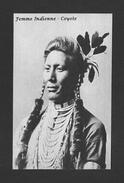 INDIENS AMÉRIQUE DE NORD - FEMME INDIENNE COYOTE - Indiens De L'Amerique Du Nord