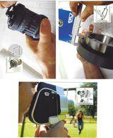 Liechtenstein 2006: Schieblehre - Rechenmaschine - Filmkamera Zu 1374-6 Mi 1431-3 Yv 1372-4 Auf MK 263 (Zu CHF 14.00) - Usines & Industries