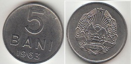 Romania 5 Bani 1963 Km#89 - Used - Roumanie