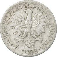 Monnaie, Pologne, 5 Zlotych, 1958, Warsaw, TTB, Aluminium, KM:47 - Polonia