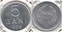 Romania 5 Bani 1975 Socialist Republic KM#92a - Used - Roumanie
