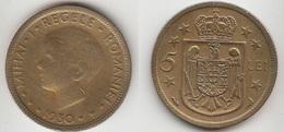 Romania 5 Lei 1930 King Mihai I Km#48 - Used - Romania