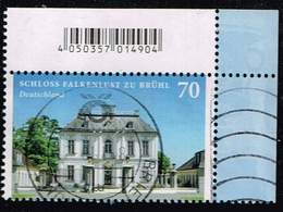Bund 2018, Michel# 3354 O Burgen Und Schlösser: Schloss Falkenlust Zu Brühl - [7] République Fédérale