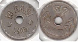 Romania 10 Bani 1905 KM#32 - Used - Rumania