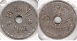 Romania 10 Bani 1905 KM#32 - Used - Romania