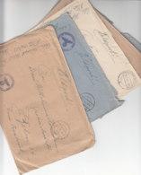 6 X Feldpost Der FP-Nr. 06753 - Mar.Flak-Abt. 232 Auf Wangerooge Aus 1940/41 überwiegend Mit Inhalt - Briefe U. Dokumente