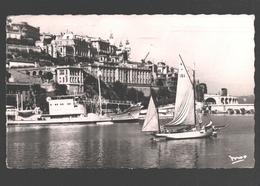 La Principauté De Monaco - Monte-Carlo - Le Port - Voilier / Sailing Boat / Zeilboot - 1954 - Port