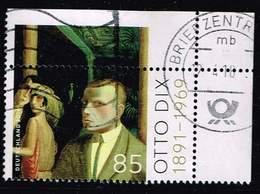 Bund 2016, Michel# 3267 O Otto Dix - Gebraucht