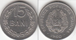 Romania 15 Ban 1960 KM#87 - Used - Roumanie