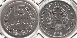 Romania 15 Bani 1966 Socialist Republic KM#93 - Used - Romania