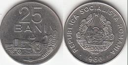 Romania 25 Bani 1966 Socialist Republic KM#94 - Used - Rumania