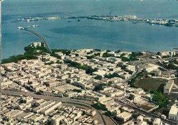 CPA-1970-DJIBOUTI-VUE AERIENNE DU CENTRE COMMERCIAL ET DU PORT-TBE - Djibouti
