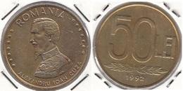 Romania 50 Lei 1992 KM#110 - Used - Roumanie