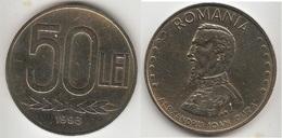 Romania 50 Lei 1993 KM#110 - Used - Roumanie
