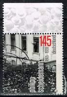 Bund 2015, Michel# 3165 O Philipp Scheidemann - BRD