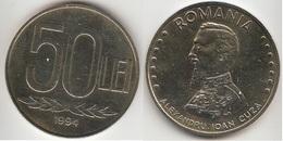 Romania 50 Lei 1994 KM#110 - Used - Romania