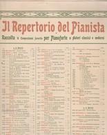 Raccolta Di Spartiti IL REPERTORIO DEL PIANISTA - Carisch & Janichen Di Milano - Spartiti