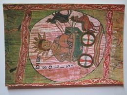 Gerona 4. Tesoro De La Catedral. Tapiz De La Creacion - Siglo XI. El Carro Del Sol. Cabildo B-12752-VI - Belle-Arti