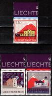 FL+ Liechtenstein 2010 Mi 1571-73 Mnh Marke Liechtenstein - Liechtenstein