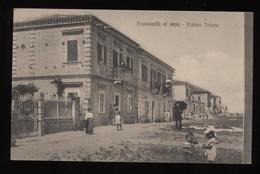 Cartolina Viaggiata Anni '10 Raffigurante Francavilla Al Mare - Riviera Tritone D351 - Italia