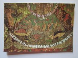 Girona 5. Tesoro De La Catedral. Tapiz De La Creacion, Siglo XI. Creacion De Las Aves Y Los Peces. Cabildo B-2005 - Belle-Arti