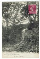Près St-Chamond, LA VALLA, Pont Sur Le Gier à LA RIVE - Circulée 1934- Bon état - Autres Communes