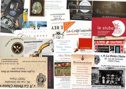 20 Cartes De Visite (lot 7) - Cartes De Visite