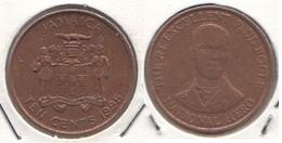 Giamaica 10 Cents 1995 KM#146.2 - Used - Jamaique