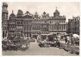BELGIQUE BRUXELLES LA GRAND PLACE - Monuments, édifices