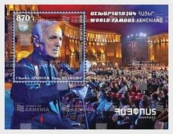 Armenië / Armenia - Postfris / MNH - Sheet Charles Aznavour 2018 - Armenië