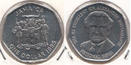 Giamaica 1 Dollar 1995 KM#164 -used - Jamaique