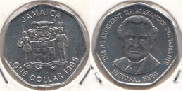 Giamaica 1 Dollar 1995 KM#164 -used - Giamaica