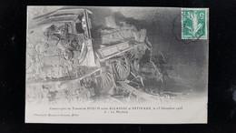 CPA D19 Catastrophe Du Tunnel Du Pouch Entre Allassac, Et Estivaux 15 Decembre 1908 La Machine - Autres Communes